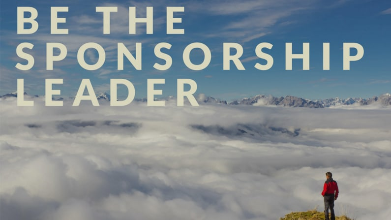 How to be the LEADER in Sports Sponsorship