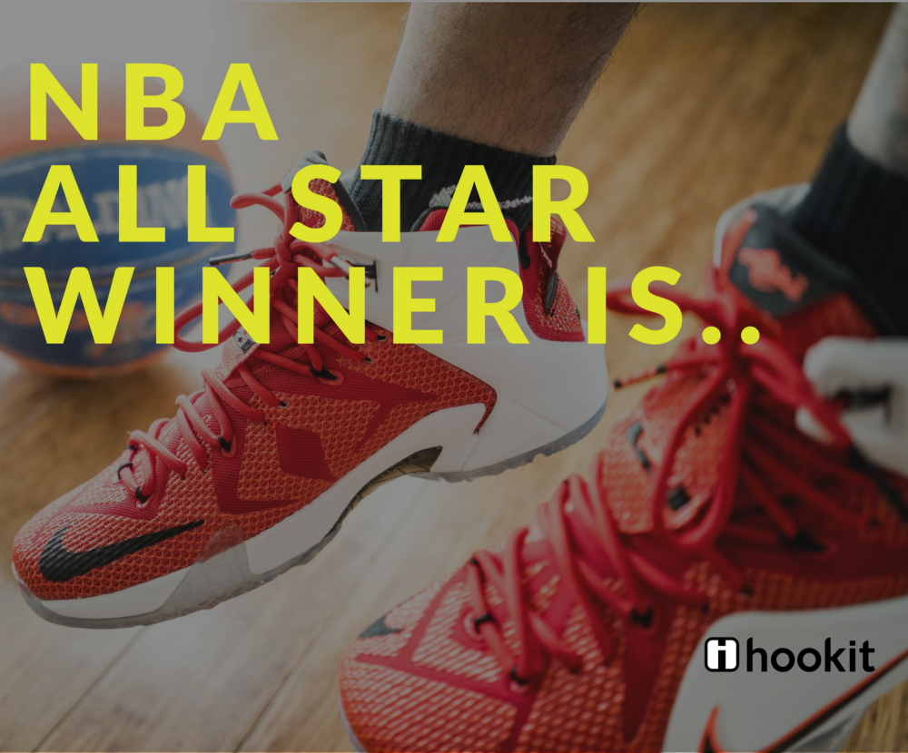 40967fa85df And the NBA All star WINNER is.. - Hookit