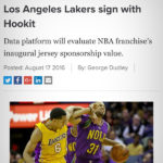 SPORTS PRO MEDIA: Los Angeles Lakers sign with Hookit