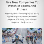 SGB Media: Five New Companies To Watch In Sports And Fitness
