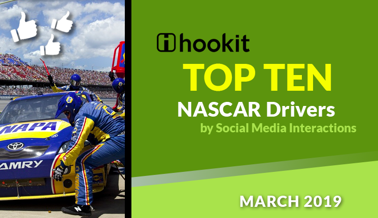 Top 10 NASCAR Drivers – March 2019
