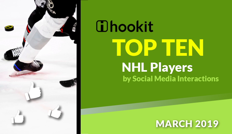 Top 10 NHL Players – March 2019