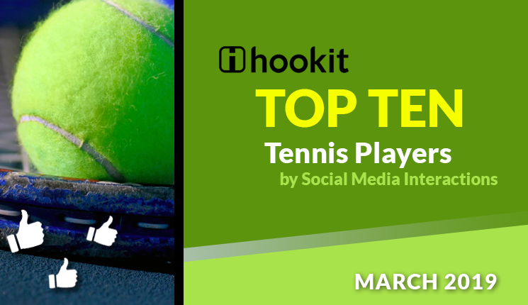 Top 10 Tennis Athletes – March 2019