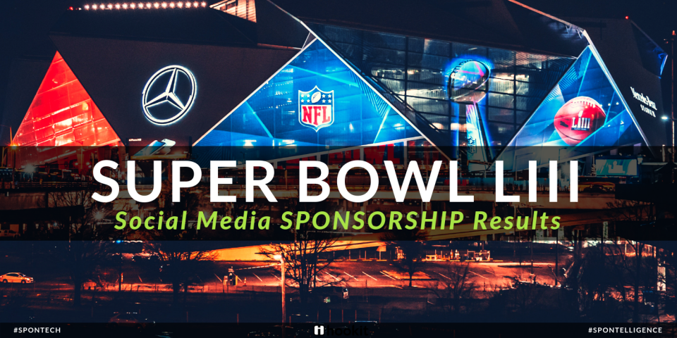 Super Bowl LIII: Social Media Sponsorship Results