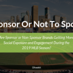Do MLB Sponsors or Non-League Sponsors Get More Social Exposure & Engagement?