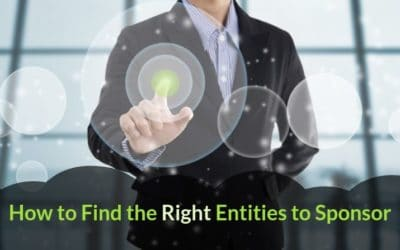 How to Find the Right Entities to Sponsor