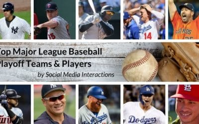 Infographic: MLB Postseason 2019 – Most Popular Teams & Players