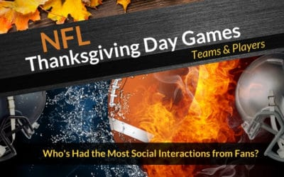 2019 NFL Thanksgiving – Most Popular Teams & Players – Infographic